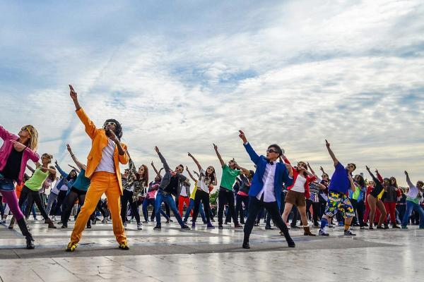 De leukste activiteit met de flashmob workshop i n Kortrijk!